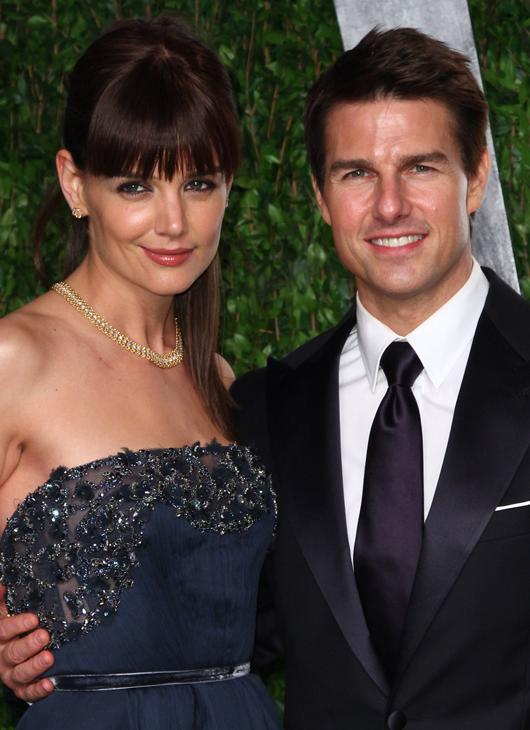 Weird celebrity couples: Forget the age gap and the height difference between Tom Cruise and Katie Holmes… the weirdest thing about these two is that Katie used to have a poster of Tom on her wall.