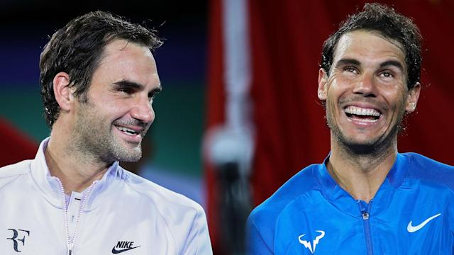 Roger Federer said he would love to play Rafael Nadal on clay before wiping his schedule, leading to a joke at his expense.