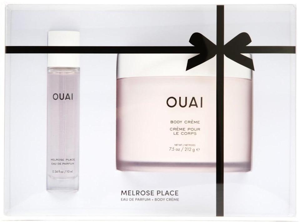 <p>This <span>Ouai Melrose Place Kit</span> ($45) is so aesthetically pleasing and will make a great addition to anyone's beauty routine.</p>