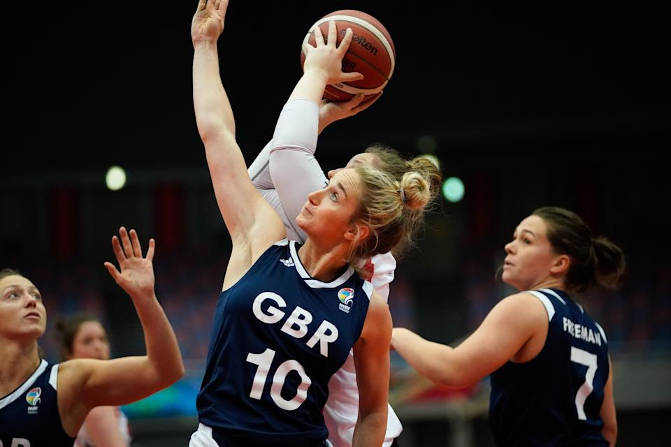 Conroy admits National Lottery funding has been a shot in the arm to her burgeoning basketball career