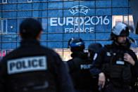 Millions of people are set to descend on France for Euro 2016, a month of football action, creating endless nightmares for the country's overstretched security services (AFP Photo/Jeff Pachoud)