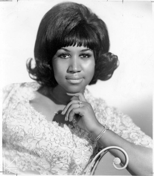 Aretha began her career in the 1950s