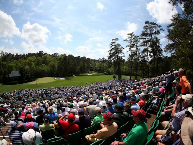 A number of players struggled at Amen Corner (Getty)