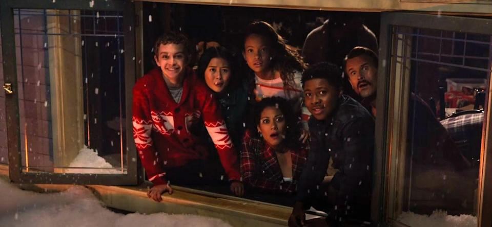 """<p>Uh-oh, Teddy is all snowed in at the bowling alley. Will the Christmas Moose save the day? Fans of the two seasons of <em><a href=""""https://www.netflix.com/title/80223556"""" rel=""""nofollow noopener"""" target=""""_blank"""" data-ylk=""""slk:Prince of Peoria"""" class=""""link rapid-noclick-resp"""">Prince of Peoria</a></em> won't want to miss this.</p><p><a class=""""link rapid-noclick-resp"""" href=""""https://www.netflix.com/title/81018634"""" rel=""""nofollow noopener"""" target=""""_blank"""" data-ylk=""""slk:WATCH NOW"""">WATCH NOW</a></p>"""
