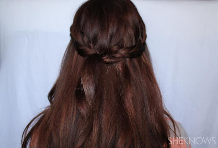 Crown braid | Sheknows.com - finished