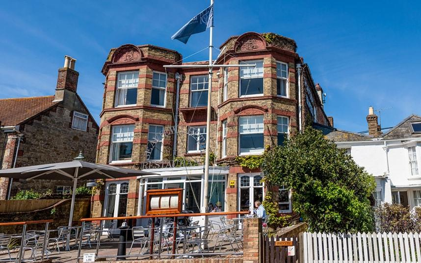 The Seaview Hotel on the Isle of Wight