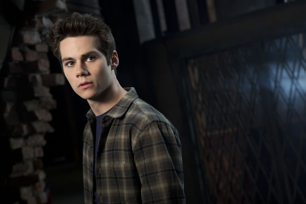 "Stiles (Dylan O'Brien) in MTV's ""Teen Wolf"" Season 3."
