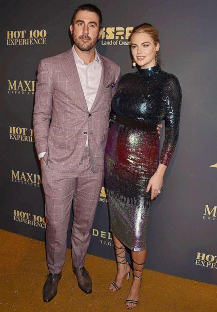 PHOTO: Justin Verlander and Kate Upton attend Maxim Hot 100 Experience in Los Angeles, July 21, 2018. (Broadimage/REX via Shutterstock )