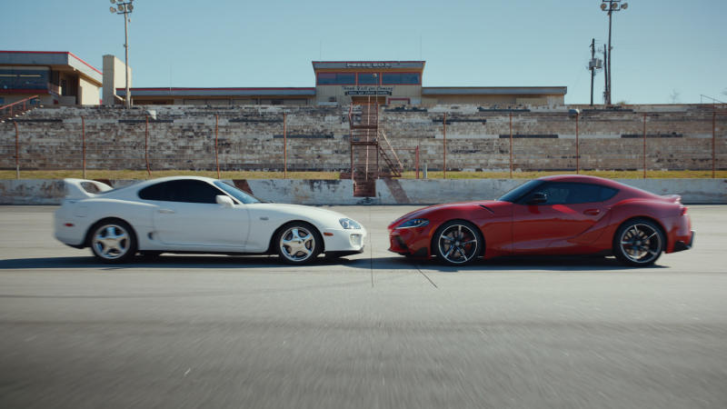 """""""Face Off"""" is a :06-second spot from Toyota's new campaign """"This Is Our Sport."""""""