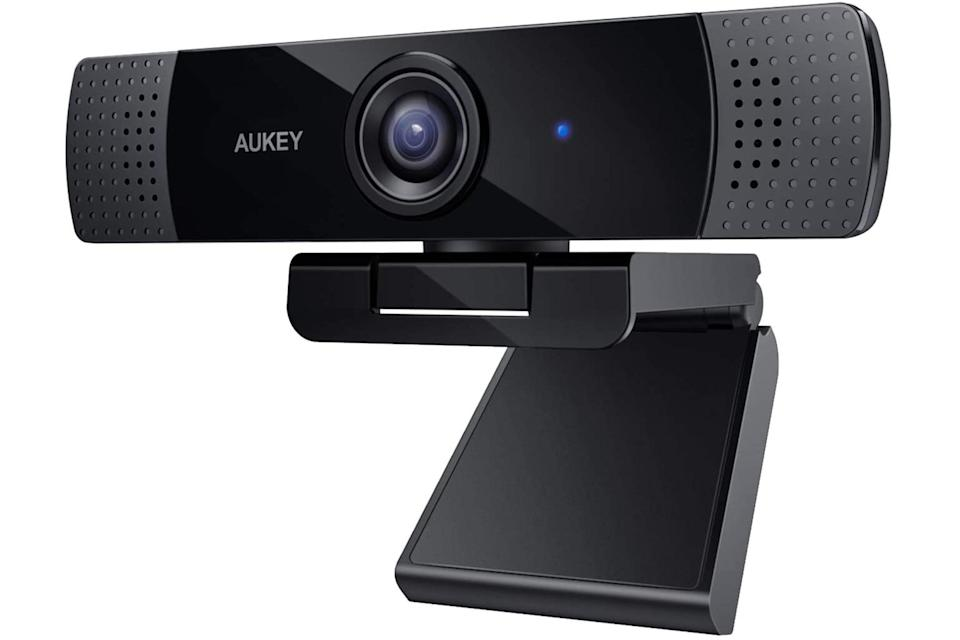 """$60, Amazon. <a href=""""https://www.amazon.com/AUKEY-Streaming-Microphone-Widescreen-Recording/dp/B072MMH33F"""" rel=""""nofollow noopener"""" target=""""_blank"""" data-ylk=""""slk:Get it now!"""" class=""""link rapid-noclick-resp"""">Get it now!</a>"""