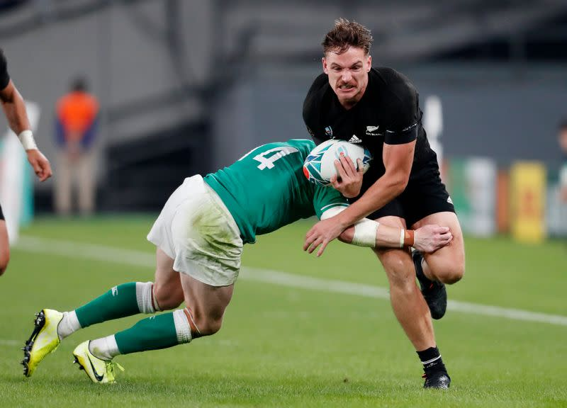 All Blacks winger Bridge out with chest injury