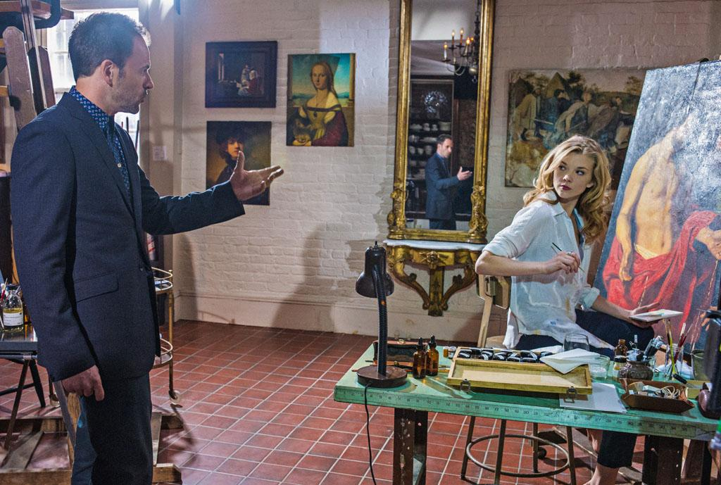 """""""The Woman"""" - As Sherlock (Jonny Lee Miller) reels at the reappearance of his former lover, Irene Adler (Natalie Dormer), a series of flashbacks unravel the tumultuous events that led to his downfall into addiction , on the two hour season finale of """"Elementary."""""""