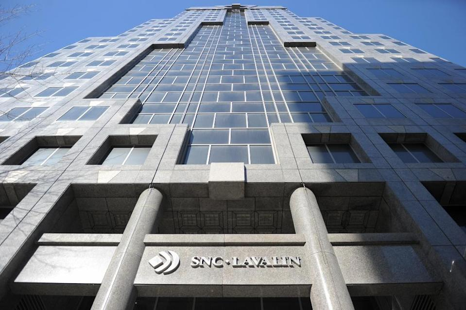 SNC-Lavalin's headquarters is based in Montreal (AFP Photo/Julien BESSET)