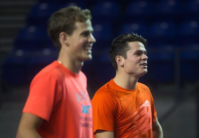 Canadian Raonic, Pospisil ready to resume rivalry that goes back to junior days