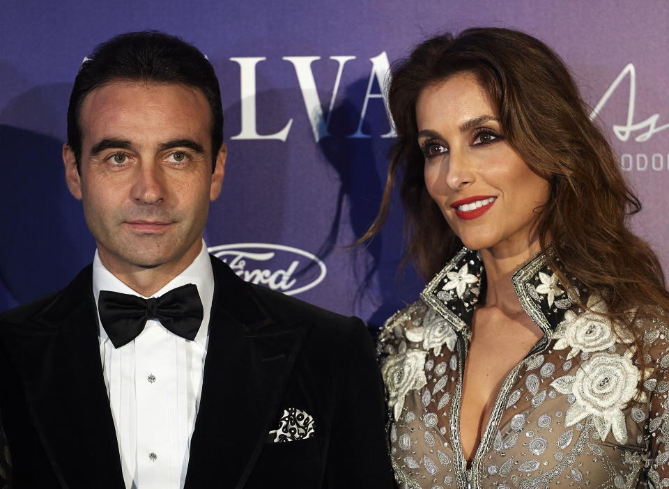 VALENCIA, SPAIN - OCTOBER 15:  Enrique Ponce and Paloma Cuevas attend Arts, Sciences and Sports Telva Awards 2015 at Palau de Les Arts Reina Sofia on October 15, 2015 in Valencia, Spain.  (Photo by Manuel Queimadelos Alonso/Getty Images)