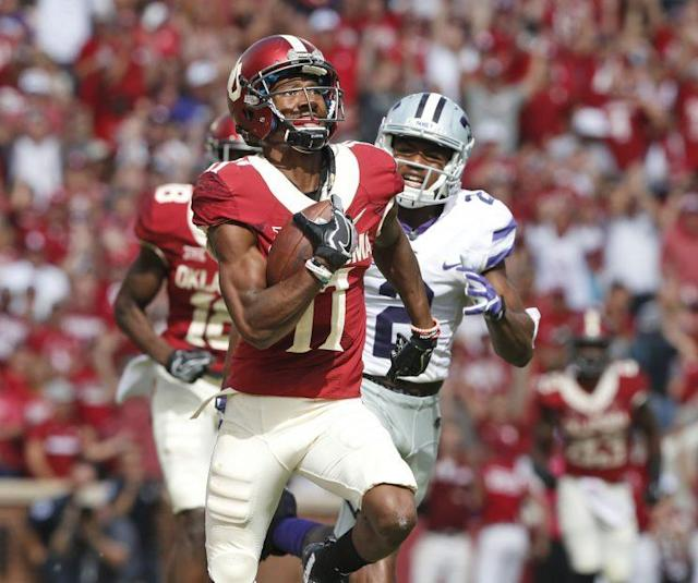 The Jaguars drafted Oklahoma wide receiver Dede Westbrook in the fourth round. (AP)