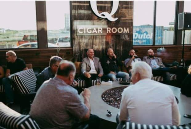 Q Cigar Room has operated on the Enoch Cree First Nation, west of Edmonton, since August 2019.  (Q Cigar Room/Facebook  - image credit)