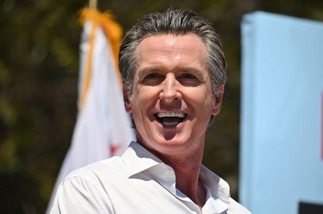 California Governor Gavin Newsom (D) will continue his work.  (Photo: Robin Beck via Getty Images)