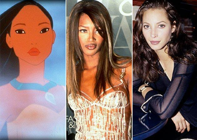 Naomi and Christy were the inspiration for Pocahontas. Copyright [Disney/Getty]