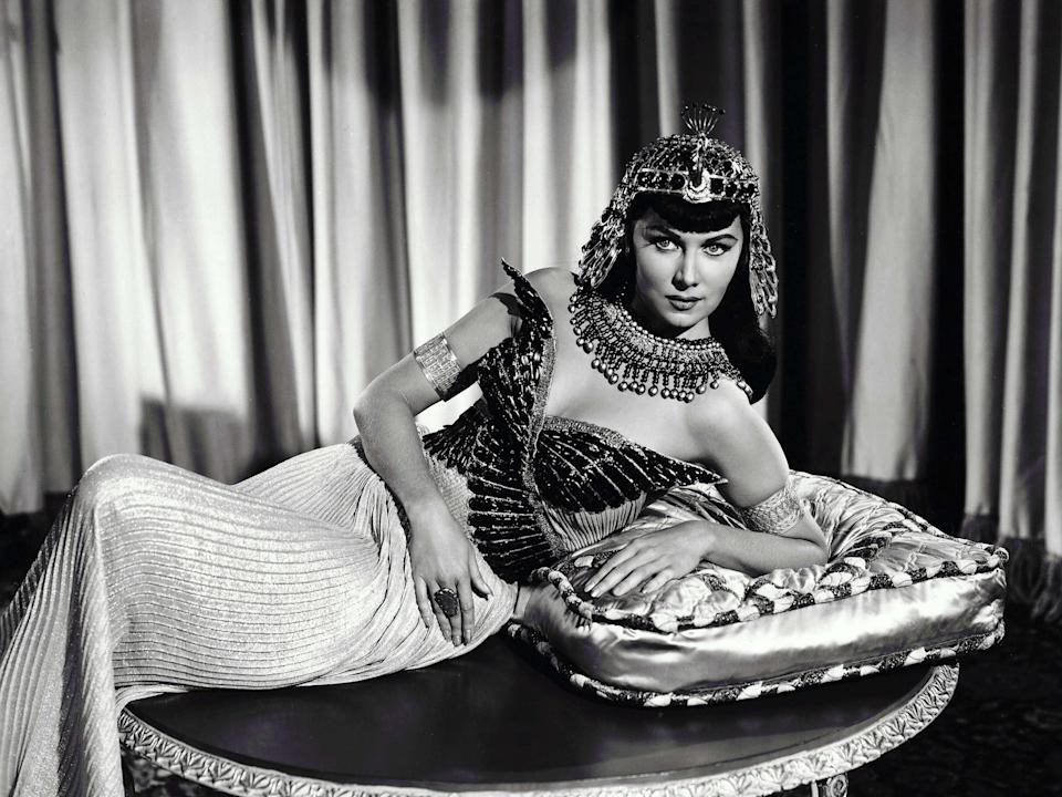 As Cleopatra in 'Serpent of the Nile'Rex