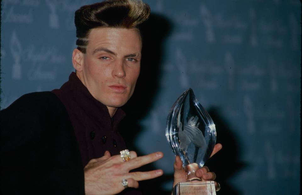 circa 1985: Rapper Vanilla Ice. (Photo by The LIFE Picture Collection via Getty Images)