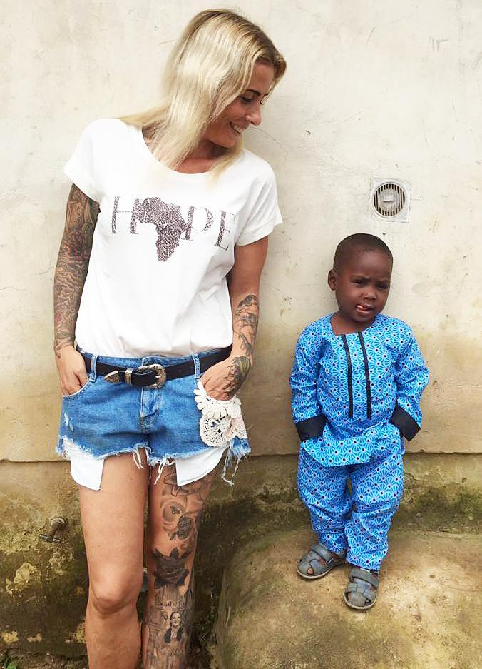 Hope, a Nigerian child who was abandoned by his family in January 2016 because they believed he was a witch, just started his first week of school — see the adorable picture