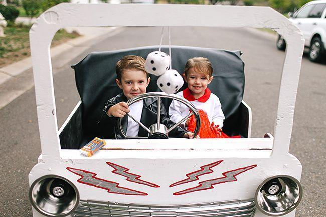 """<p>We're (summer) lovin' these <a href=""""https://www.countryliving.com/diy-crafts/g4975/toddler-halloween-costume-ideas/"""" rel=""""nofollow noopener"""" target=""""_blank"""" data-ylk=""""slk:cute toddler costumes"""" class=""""link rapid-noclick-resp"""">cute toddler costumes</a> inspired <a href=""""https://www.countryliving.com/diy-crafts/g22133528/grease-halloween-costumes/"""" rel=""""nofollow noopener"""" target=""""_blank"""" data-ylk=""""slk:by"""" class=""""link rapid-noclick-resp"""">by </a><em><a href=""""https://www.countryliving.com/diy-crafts/g22133528/grease-halloween-costumes/"""" rel=""""nofollow noopener"""" target=""""_blank"""" data-ylk=""""slk:Grease"""" class=""""link rapid-noclick-resp"""">Grease</a></em>. Since you're in a hurry, go ahead and skip the car.</p><p> <strong>Get the tutorial at <a href=""""https://www.thesitsgirls.com/diy/grease-lightning-costumes/"""" rel=""""nofollow noopener"""" target=""""_blank"""" data-ylk=""""slk:The Sway"""" class=""""link rapid-noclick-resp"""">The Sway</a>.</strong></p><p><a class=""""link rapid-noclick-resp"""" href=""""https://www.amazon.com/Hanes-ComfortSoft-EcoSmart-Fleece-Sweatshirt/dp/B01IBZD598/?tag=syn-yahoo-20&ascsubtag=%5Bartid%7C10050.g.23785711%5Bsrc%7Cyahoo-us"""" rel=""""nofollow noopener"""" target=""""_blank"""" data-ylk=""""slk:SHOP WHITE SWEATSHIRTS"""">SHOP WHITE SWEATSHIRTS</a></p>"""