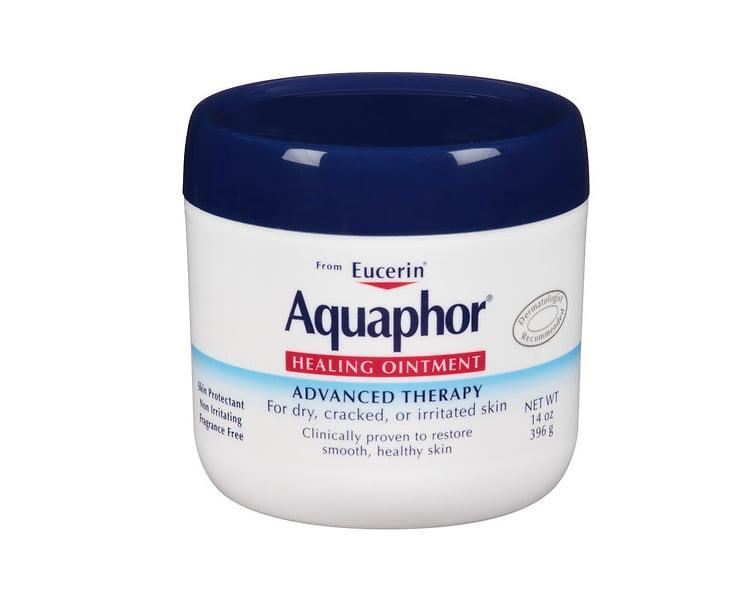 "<p>""<a href=""https://www.popsugar.com/buy/Aquaphor-Healing-Ointment-567757?p_name=Aquaphor%20Healing%20Ointment&retailer=amazon.com&pid=567757&price=17&evar1=bella%3Auk&evar9=40920323&evar98=https%3A%2F%2Fwww.popsugar.com%2Fbeauty%2Fphoto-gallery%2F40920323%2Fimage%2F40920579%2FAquaphor-Healing-Ointment&list1=hair%2Cmakeup%2Cbeauty%20products%2Ceditors%20pick%2Cbeauty%20shopping%2Cbeauty%20news%2Cdrugstore%20beauty%2Cskin%20care&prop13=api&pdata=1"" class=""link rapid-noclick-resp"" rel=""nofollow noopener"" target=""_blank"" data-ylk=""slk:Aquaphor Healing Ointment"">Aquaphor Healing Ointment</a> ($17) is a do-it-all balm that heals the most chapped, chafed, dry skin on your lips, hands, or elbows. It even adds a glossy sheen to eyelids. I keep a small tube handy and a tub in my bathroom."" - JD</p>"