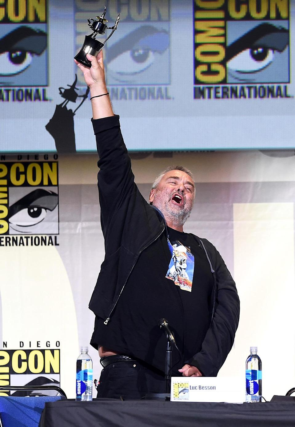 <p>Director Luc Besson on July 21. <i>(Photo: Kevin Winter/Getty Images)</i></p>