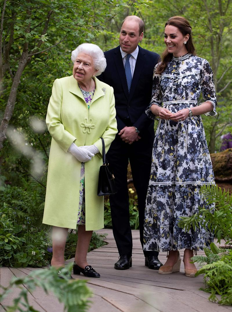The royal mother-of-three looked to the shoe brand for a trip to the Chelsea Flower Show [Photo: Getty]