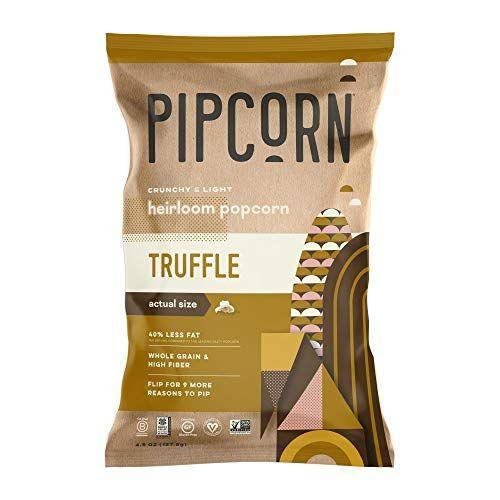 """<p><strong>Pipsnacks</strong></p><p>amazon.com</p><p><a href=""""https://www.amazon.com/dp/B088TYXGKN?tag=syn-yahoo-20&ascsubtag=%5Bartid%7C10055.g.4676%5Bsrc%7Cyahoo-us"""" rel=""""nofollow noopener"""" target=""""_blank"""" data-ylk=""""slk:Shop Now"""" class=""""link rapid-noclick-resp"""">Shop Now</a></p><p>For the price, you'll get a 3-pack of this delicious popcorn. This brand happens to be a favorite of our nutritionist since it uses minimal ingredients and the popcorn has less fat and calories per serving than traditional popcorn. </p>"""