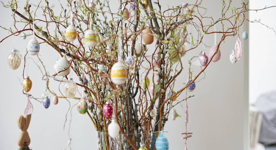 All the best Easter decorations for 2021. (Getty Images)