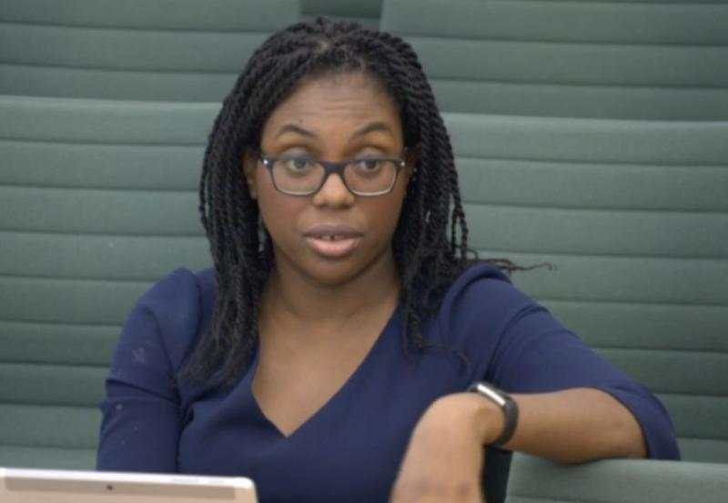 Equalities minister Kemi Badenoch giving evidence before a Commons committee (Photo: Equalities minister Kemi Badenoch giving evidence before a Commons committee)