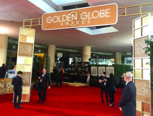 <p>We're LIVE on the red carpet of the 74th annual @goldenglobes! Follow us for red carpet pics leading up to the big show. #goldenglobes </p>