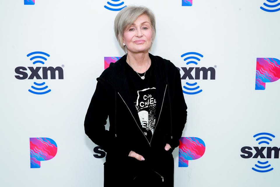 Sharon Osbourne visits the SiriusXM Hollywood Studio on February 27, 2020 in Los Angeles, California. (Photo by Rich Fury/Getty Images)