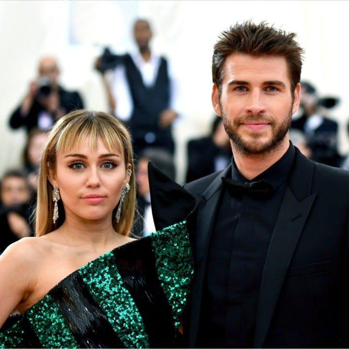 Liam Hemsworth files for divorce from Miley Cyrus, reports say