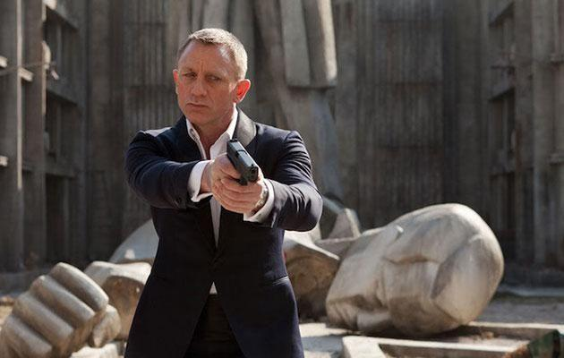 Daniel Craig ended up taking on the role as Bond for three films. Source: Columbia Pictures