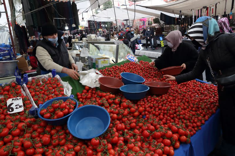 Analysis: Less for more in Turkey - costly food starves economic rebound