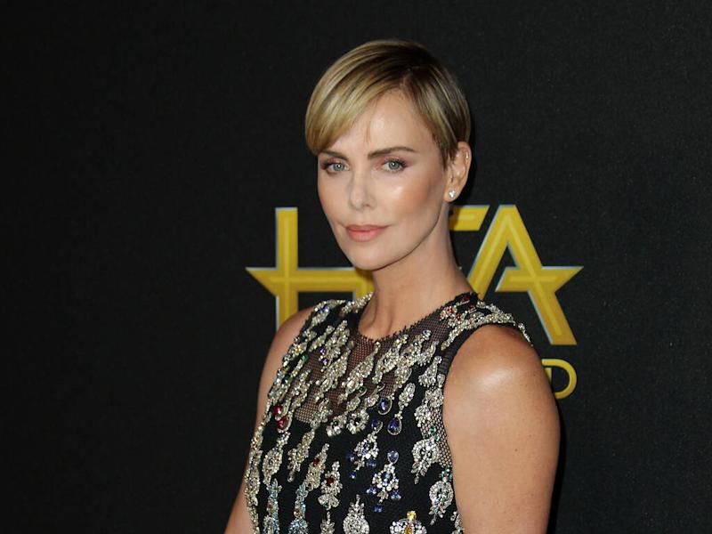 Charlize Theron's new pixie cut inspired by soccer star Megan Rapinoe