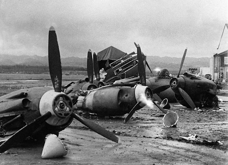 pearl harbor damage