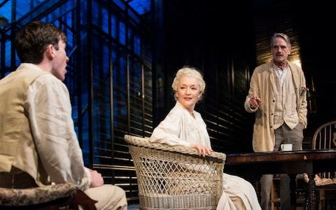 Lesley Manville in Long Day's Journey Into Night - Credit: Wyndham's Theatre