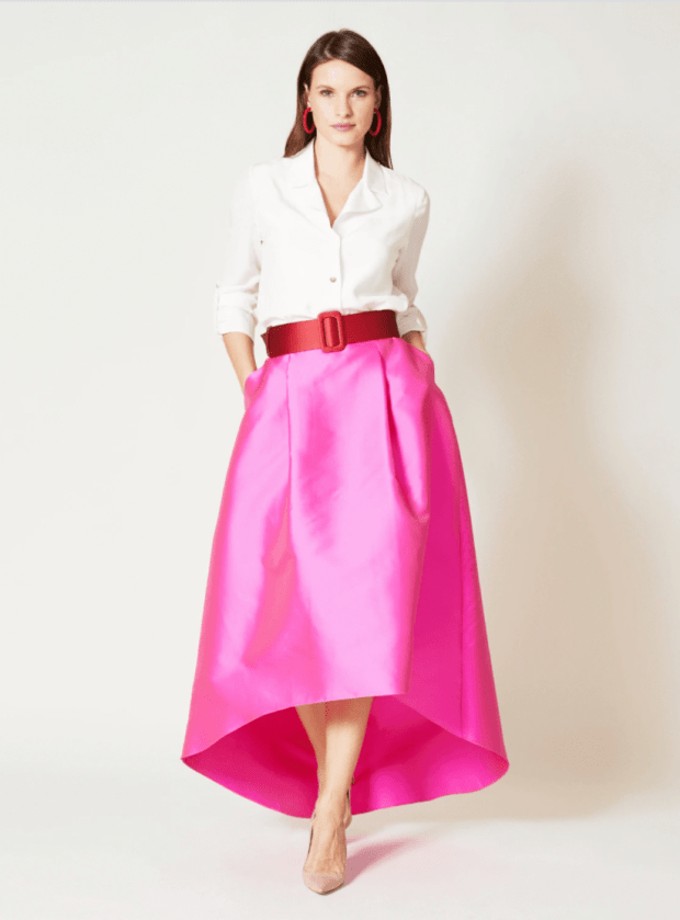 """<p>Sachin and Babi Avalon Skirt, $159 (from $459), <a href=""""https://rstyle.me/+Rb3LvmtXy8kSzuwaYDE2MA"""" rel=""""nofollow noopener"""" target=""""_blank"""" data-ylk=""""slk:available here"""" class=""""link rapid-noclick-resp"""">available here</a> (sizes 0-20). </p>"""