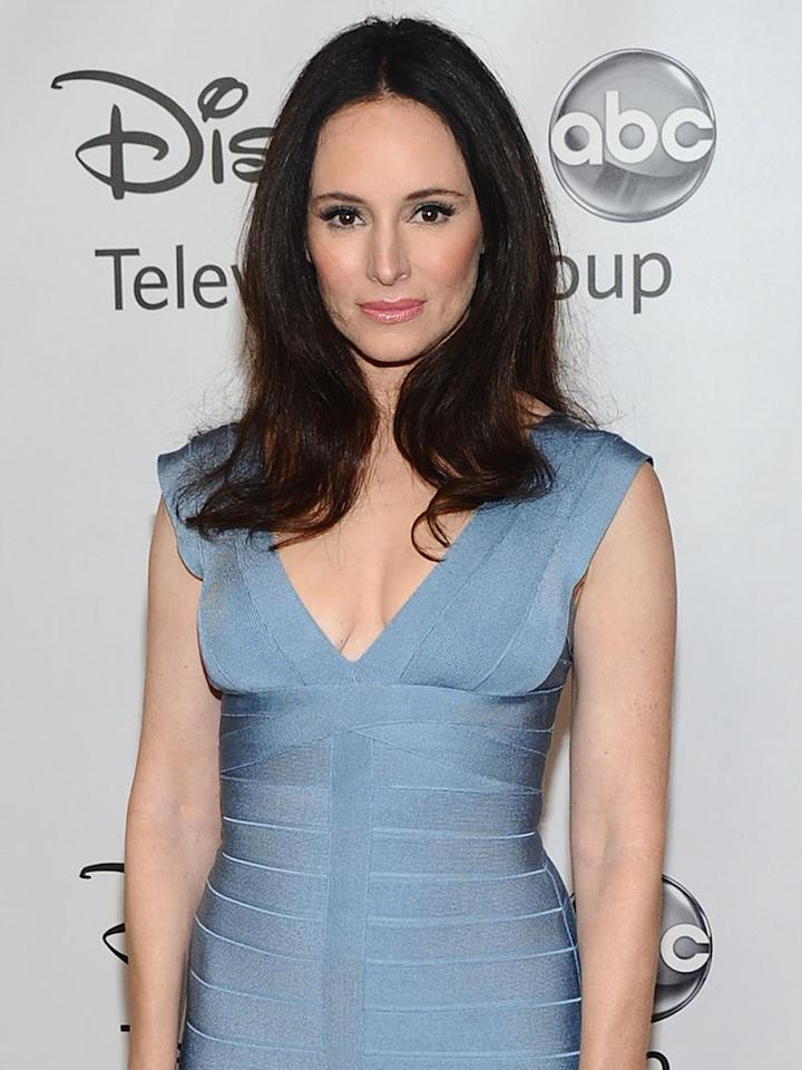 """""""Revenge"""" star Madeline Stowe is a guest of Thomson Reuters."""