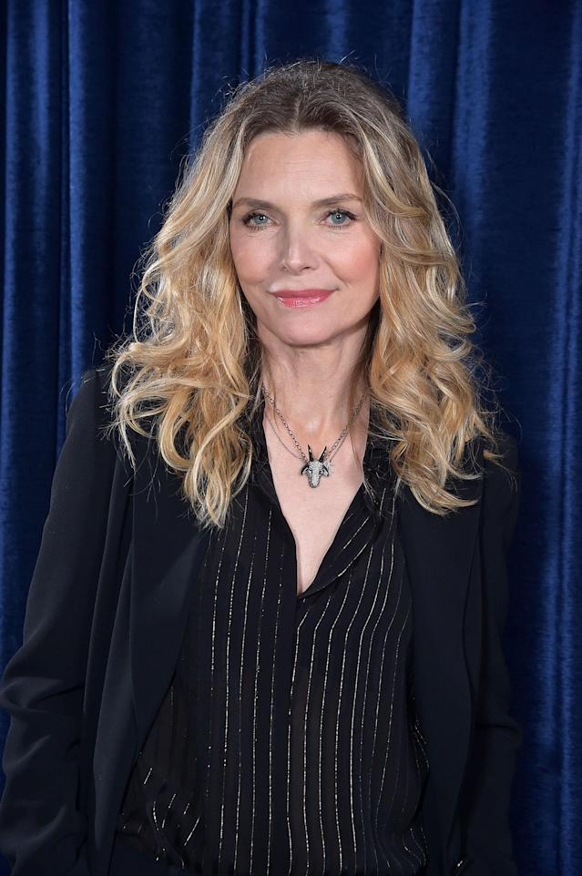 Pfeiffer at Thursday's Tribeca Film Festival panel. (Photo: Theo Wargo/Getty Images for Tribeca Film Festival)