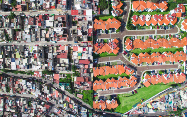 <p>This remarkable photo of Santa Fe in Mexico City form part of Miller's Unequal Scenes project (MediaDrumWorld/Johnny Miller) </p>