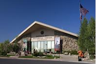 """<p><a href=""""https://centerofthewest.org/our-museums/"""" rel=""""nofollow noopener"""" target=""""_blank"""" data-ylk=""""slk:Buffalo Bill Center of the West"""" class=""""link rapid-noclick-resp"""">Buffalo Bill Center of the West </a></p><p>Not just about the notorious cowboy, this museum in Cody is home to the Plains Indian Museum, the Draper Natural History Museum, the New Cody Firearms Museum and the Whitney Western Art Museum. Talk about your one stop shopping.</p>"""