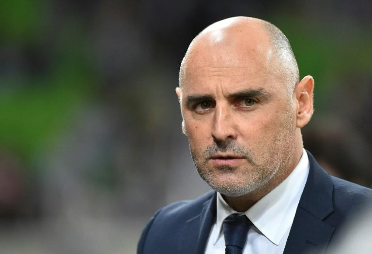 Kevin Muscat, head coach of the Melbourne Victory, seen during an AFC Champions League match in Melbourne, in May 2016