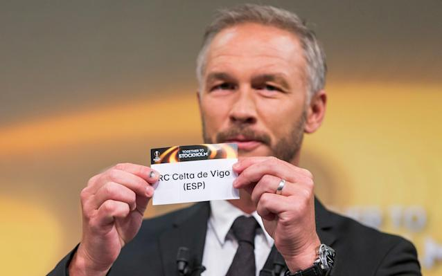 <span>Who will Manchester United get in the draw for the last four of the Europa League</span> <span>Credit: AP </span>