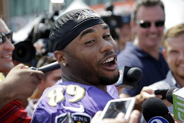 Steve Smith Sr. left the NFL the same way he played: talking big. (AP)