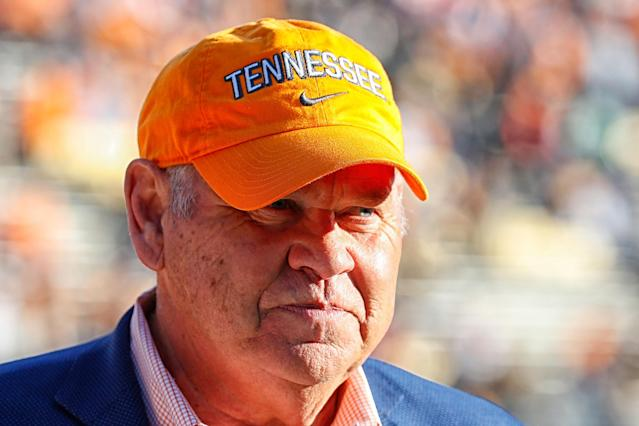 Tennessee's recruiting class came in at No. 7 in Rivals' team rankings. (Photo by Frederick Breedon/Getty Images)